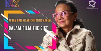 Kembali bermain film, begini peran Christine Hakim dalam film The Gift