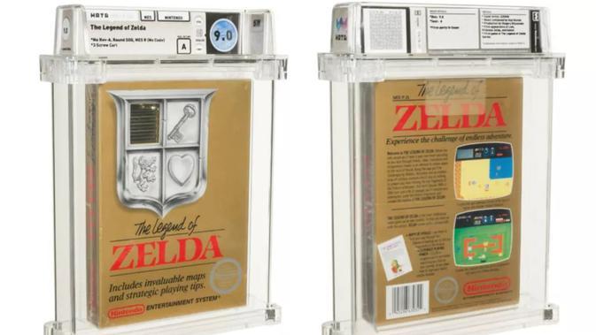 Game Lawas The Legend of Zelda Terjual Rp 12,6 Miliar dalam Lelang - Tekno  Liputan6.com