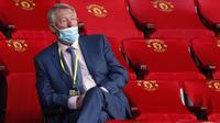 Tokoh yang menentang di antaranya Sir Alex Ferguson. Menurutnya, Liga Super Eropa adalah langkah mundur dari 70 tahun sepak bola klub Eropa dan tidak menghargai kesempatan klub kecil untuk berlaga di kompetisi kasta tertinggi Eropa. (AFP/Clive Brunskill/Pool)