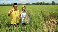 Calon gubernur dan Wakil Gubernur Lampung Arinal-Nunik. (Istimewa)