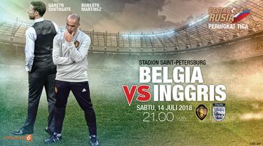 Prediksi Belgia vs Inggris