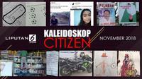 Banner Kaleidoskop Citizen November 2018. (Liputan6.com/Triyasni)