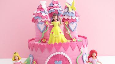 10 Kue Ulang Tahun Anak Bentuk Istana Fimela Fimelacom