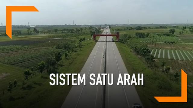 Kakorlantas Polri Irjen Refdi Andri meninjau ruas tol Brebes Barat. Ini menjadi salah satu titik pemberlakuan rekayasa lalu lintas sistem satu arah (oneway) pada saat arus mudik dan balik Lebaran 2019.