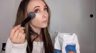Makeup dengan Makanan