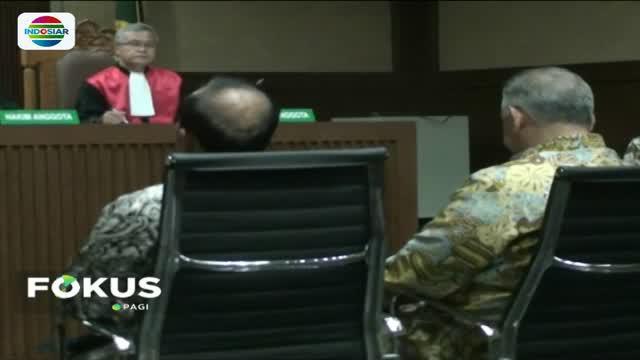 Sofyan Basir menjelaskan mekanisme penunjukan langsung dalam proyek tersebut hingga keterlibatan mantan Ketua Umum Partai Golkar Setya Novanto dan Idrus Marham.