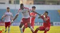 Amido Balde, saat memperkuat tim Liga Vietnam, Ho Chi Minh City. (Istimewa)