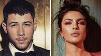 Tak mau membuat publik heboh, Priyanka Chopra dan Nick Jonas disebut-sebut telah bertukar cincin. (Instagram)