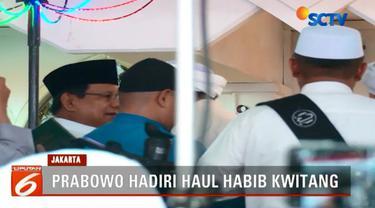 Dalam acara ini Prabowo tidak memberikan sambutan terkait agenda politiknya jelang Pilpres 2019. Prabowo hanya mengikuti acara dengna khidmat.