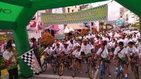 Gowes Nusantara sambangi kota Ambon (dok: Kemenpora)