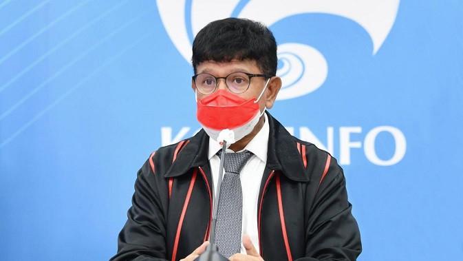 Menteri Komunikasi dan Informatika, Johnny G. Plate. (Foto: Kemenkominfo)