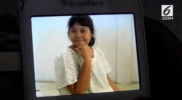 Seorang ibu rumah tangga di desa Nusamakmur Air Kumbang, kabupaten Banyuasin provinsi Sumatera Selatan, mengkhawatirkan nasib anak wanitanya, Maria Meli.