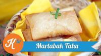 Saatnya menikmati santai sore di akhir pekan sambil menyantapnya lezatnya Martabak Tahu. (Foto: Kokiku Tv)