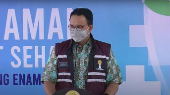Anies Baswedan Sudah Divaksinasi Covid-19 yang Kedua