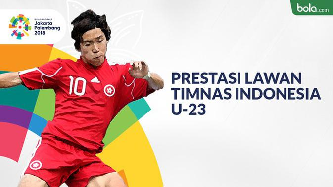 VIDEO: Prestasi Lawan Timnas Indonesia U23 di Cabang Sepak Bola Asian Games 2018  Asian Games