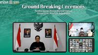 Menteri BUMN Erick Thohir berkesempatan mengawali pembangunan masjid Walidah Dahlan di Universitas 'Aisyiyah di Yogyakarta.