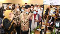 Menaker Ida dan Gibran Resmikan Barista Jamu di BLK Surakarta