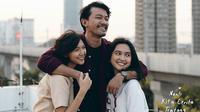 Rio Dewanto, Sheila Dara dan Rachel Amanda menjadi kakak beradik di film NKCTHI (Instagram/filmnkcthi)