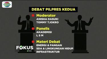 KPU dan Bawaslu tetapkan Tommy Tjokro dan Anisa Dasuki jadi moderator debat Pilpres kedua pada 17 Februari 2019.