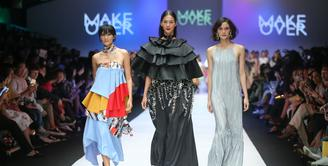 Makeover Beauty Beyond Rules kolaborasi 3 desainer Tities Sapoetra, Paulina Katarina, dan Rinda Salmun (Fimela.com/Windy Sucipto)