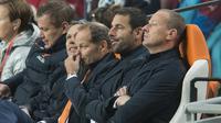 KECEWA - Danny Blind kecewa gagal loloskan Belanda ke Piala Eropa (REUTERS/Toussaint Kluiters/United Photos)