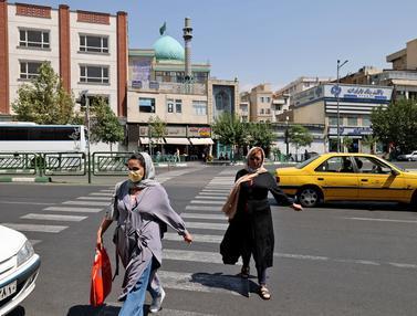Pemerintah Iran Lockdown Kota Teheran