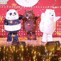 Natal bareng We Bare Bears di Mal Taman Anggrek (Dok. MTA)