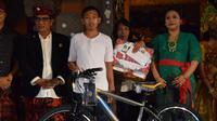 Kejutan HUT ke-525 Kota Tabanan (Liputan6.com/istimewa)