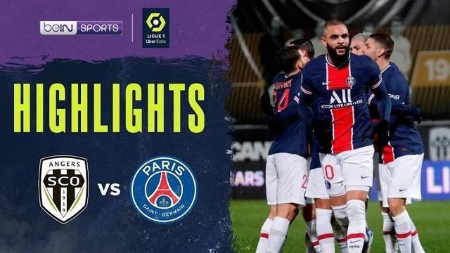 Berita video highlights Liga Prancis, PSG menang tipis atas Angers 1-0, Minggu (17/1/21)