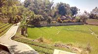 Salah satu view destinasi kawasan Desa Wisata Ciburial, Samarang Garut, Jawa Barat (Liputan6.com/Jayadi Supriadin)