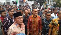 Gubernur Sumut Edy Rahmayadi temui pendemo (Liputan6.com/Reza Perdana)