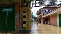 Banjir rendam delapan desa di Sampang, Madura (Liputan6.com / Dhimas Prasaja)