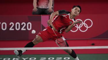 Jonatan Christie - Bulu Tangkis - Olimpiade Tokyo 2020