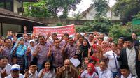 Beberapa pendukung Jokowi yang mendeklarasikan dukungan Anies-Sandi di antaranya Jokower, Jenggala Center, Projo, dan EP For Jokowi. (Liputan6.com/Khairur Rasyid)