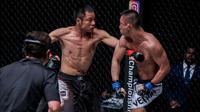 Atlet beladiri asal Tiongkok, Chen Lei akan menghadapi atlet asal Indonesia, Anthony Engelen pada duel ONE: Legendary Quest di Shanghai nanti (dok: ONE Championship)