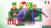 Piala Eropa 2020 - Profil Tim Italia (Bola.com/Adreanus Titus)