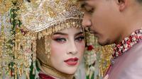 Momen Pernikahan Selebgram Aghnia Punjabi, Mewah dan Glamour  (sumber:Instagram/antzcreator)
