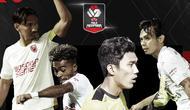 Rapor Pemain PSM Makassar di semifinal Piala Menpora 2021 leg kedua. (Bola.com/Dody Iryawan)