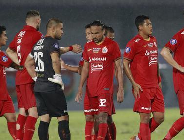 Foto: Persija Jakarta Diimbangi PSIS Semarang 2-2 dalam Pekan Kedua BRI Liga 1 2021 / 2022