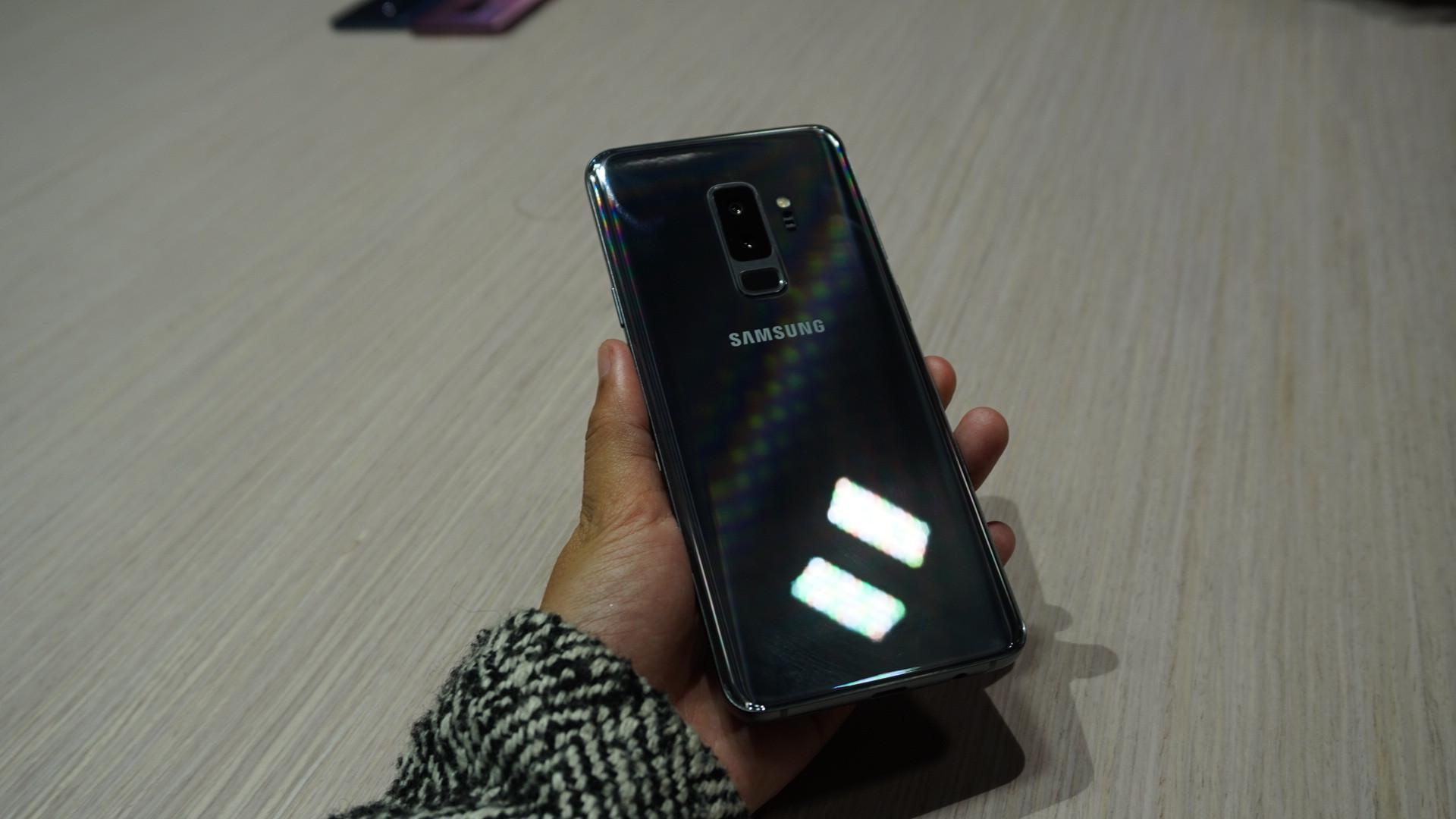 Samsung Galaxy S9 Plus (Liputan6.com/ Agustin Setyo W)