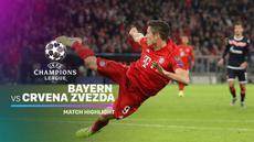Berita video highlights Liga Champions 2019-2020 antara Bayern Munchen melawan Crvena Zvezda yang berakhir dengan skor 3-0, Rabu (18/9/2019).