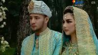 Pernikahan Ammar Zoni  - Irish Bella (SCTV/ Vidio.com)