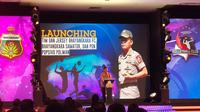Launching tim Bhayangkara FC di Auditorium PTIK, Jakarta, Senin (24/2/2020). (Bola.com/Media Bhayangkara FC)