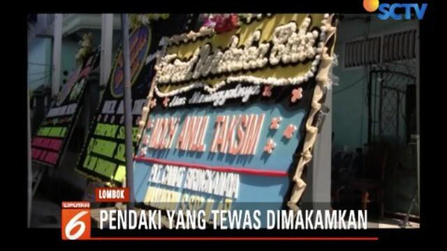 Pria kelahiran 1992 asal Makassar tewas saat terjadinya gempa Lombok korban sempat berlarian menyelamatkan diri