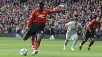 Gelandang MU, Paul Pogba. (AP Photo/Rui Vieira)