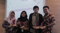 SMAN 4 Bogor mengalahkan ide empat finalis lainnya untuk bisa jalan-jalan ke Shanghai. (dok. EF/Dinny Mutiah)