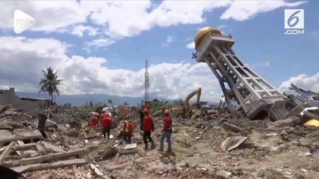 Tim gabungan penanggulangan bencana tsunami dan gempa Palu menghentikan pencarian korban hari ini.
