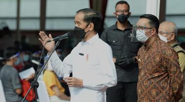 Jokowi Ingin Vaksinasi Massal di Stadion Bekasi Jadi Percontohan Nasional