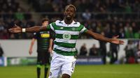 Sama seperti rekannya Tierney, penyerang Celtic, Moussa Dembele menjadi incaran Manchester United pada bursa transfer januari 2018. (AFP/Patrik Stollarz)