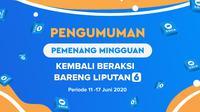 Pemenang Beraksi Liputan6.com 11-17 Juni 2020.